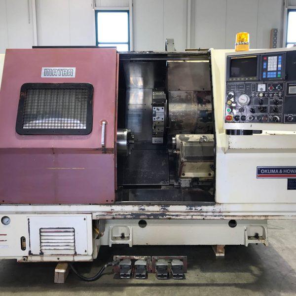 CNC-Drehmaschine Okuma – Howa ACT – 4 – 04-02-099