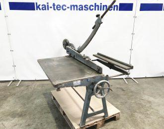 Handhebel Tafelschere RAS Typ 1001 – 01-07-008