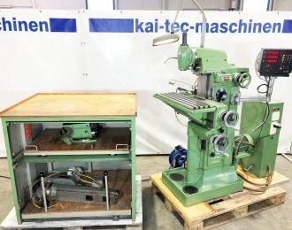 Werkzeugfräsmaschine Deckel FP 1 – 07-07-096